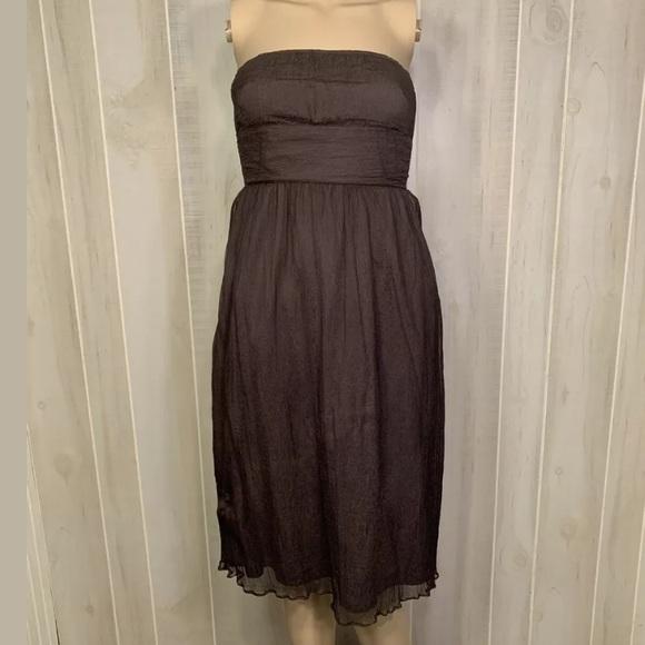 J Crew Strapless Dress Size